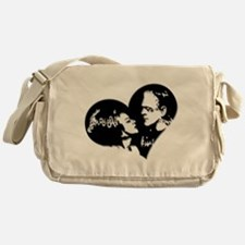 Frank and his Bride Messenger Bag