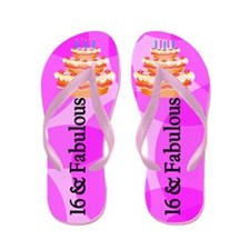 Fantastic 16th Flip Flops
