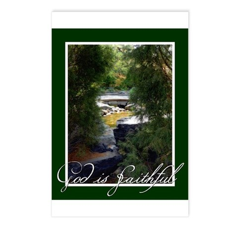 God is Faithful Postcards (Package of 8)