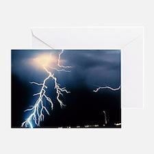 Lightning Strike Greeting Card