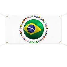 Brazil Soccer 2014 Banner
