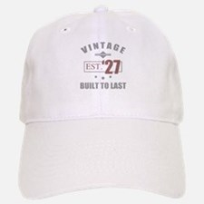 Vintage 1927 Birth Year Baseball Baseball Cap