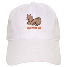 Talk to the Tail Squirrel Baseball Cap