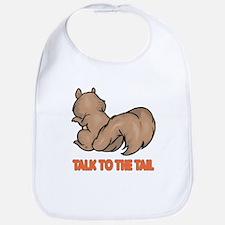 Talk to the Tail Squirrel Bib