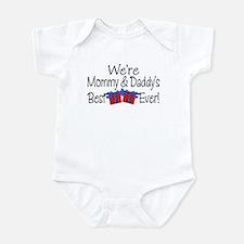 Best Blue Present Cute Infant Bodysuit