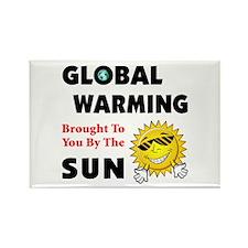 Global Warming Skeptic Rectangle Magnet (10 pack)