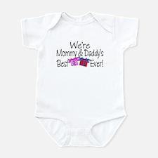 Best P & B Present Cute Baby Bodysuit