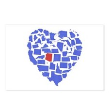 Arizona Heart Postcards (Package of 8)