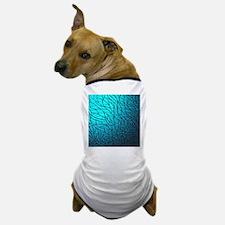 Teal Abstract Dog T-Shirt