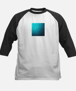 Teal Abstract Baseball Jersey