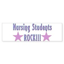 Nursing Students Bumper Bumper Sticker