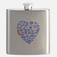 California Heart Flask
