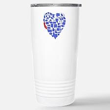 California Heart Travel Mug