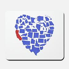 California Heart Mousepad