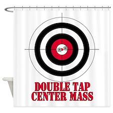 doubletap-2.png Shower Curtain