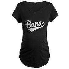 Buna, Retro, Maternity T-Shirt