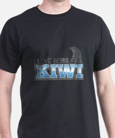 I love being KIWI with silver fern T-Shirt