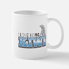 I love being KIWI with silver fern Mugs