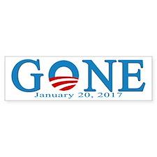 Barack Obama Gone Bumper Bumper Sticker