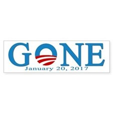Barack Obama Gone Bumper Bumper Stickers