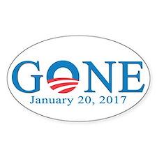 Barack Obama Gone Bumper Stickers