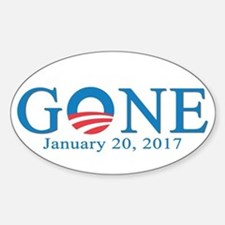 Barack Obama Gone Decal