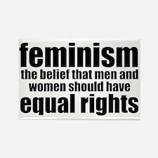 Feminist Rectangle Magnet
