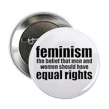"Feminist 2.25"" Button"