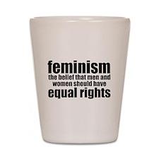 Feminist Shot Glass