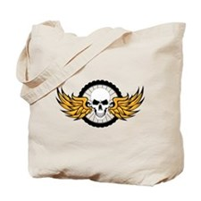 Death Ride Mountain Bike Tote Bag