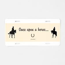 Horse Design by Chevalinite Aluminum License Plate