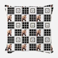 Horse Design by Chevalinite Woven Throw Pillow