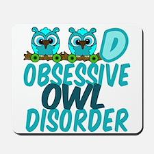 Pretty Owl Mousepad