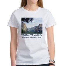 wawona-tunnel-view10x10 T-Shirt