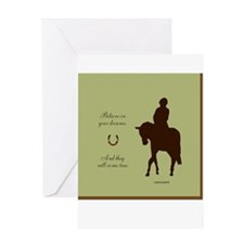 Horse Design by Chevalinite Greeting Card