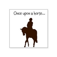 """Horse Design by Chevalinite Square Sticker 3"""" x 3"""""""