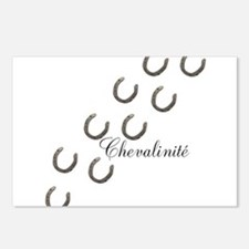 Horse Design by Chevalini Postcards (Package of 8)