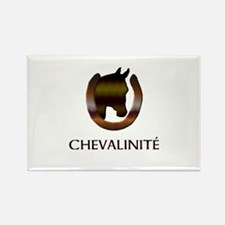 Horse Design by Chevalinite Rectangle Magnet