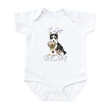 Husky Mom Infant Bodysuit