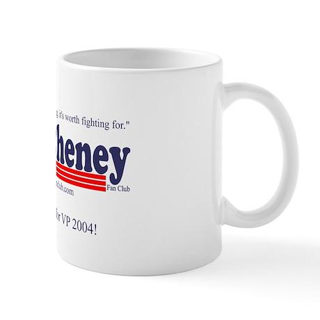 Dick Cheney Fan Club Mug