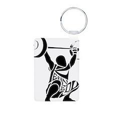 weightlifter Keychains
