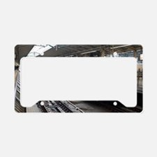 Bullet train License Plate Holder