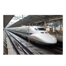 Bullet train Postcards (Package of 8)
