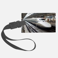 Bullet train Luggage Tag