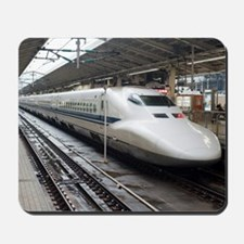 Bullet train Mousepad