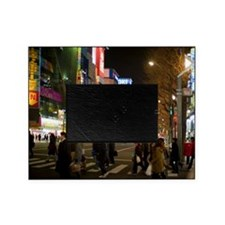 akihabara at night Picture Frame