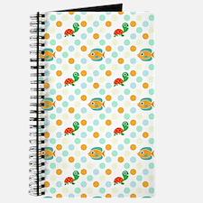 Cute Sea Life Pattern Journal