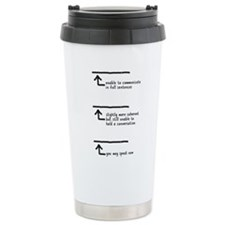 Cute Level Travel Mug