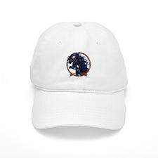 Black Horse Mandala Baseball Baseball Cap