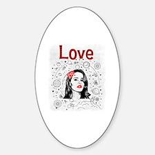 Cute Rey Sticker (Oval)